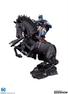 Batman The Dark Knight Returns A Call to Arms Mini Battle Statue - DC Collectibles