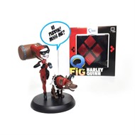 Harley Quinn Alerquina DC Comics - Q-Fig - QUANTUM MECHANIX Exclusivo Loot Crate