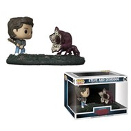 Steve vs Demodog Movie Moment - Stranger Things - Funko POP Televisão