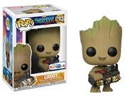 Groot c/ bomba - Guardiões da Galáxia Vol. 2 MARVEL - Funko POP Marvel - Exclusivo TOYSRUS