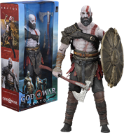 Kratos (2018) - 1/4 Scale Action Figure -God Of War - Original NECA