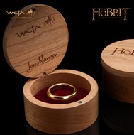 One Ring - O Um Anel The Hobbit S/ Runas - Original Weta