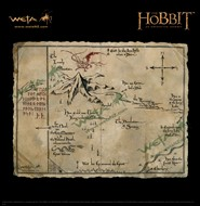 Mapa de Thorin - O Hobbit - Weta