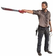Rick Grimes - The Walking Dead 25cm Serie 2 - Mcfarlene