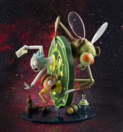 Rick and Morty Vinyl Figura - Kidrobot