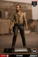 Rick Grimes  - The Walking Dead Action Figure - McFarlene Toys Color Tops Series