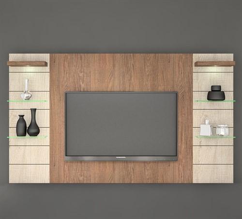 Painel para TV Veneza com Luminária de LED 200cm - KNR