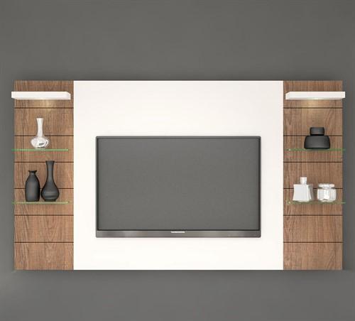Painel para TV Veneza com Luminária de LED 272cm - KNR