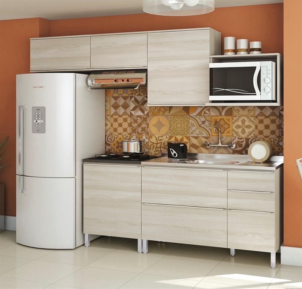 Cozinha Modulada 6 Pe As Versatti Nacre N4 Kappesberg Comprar