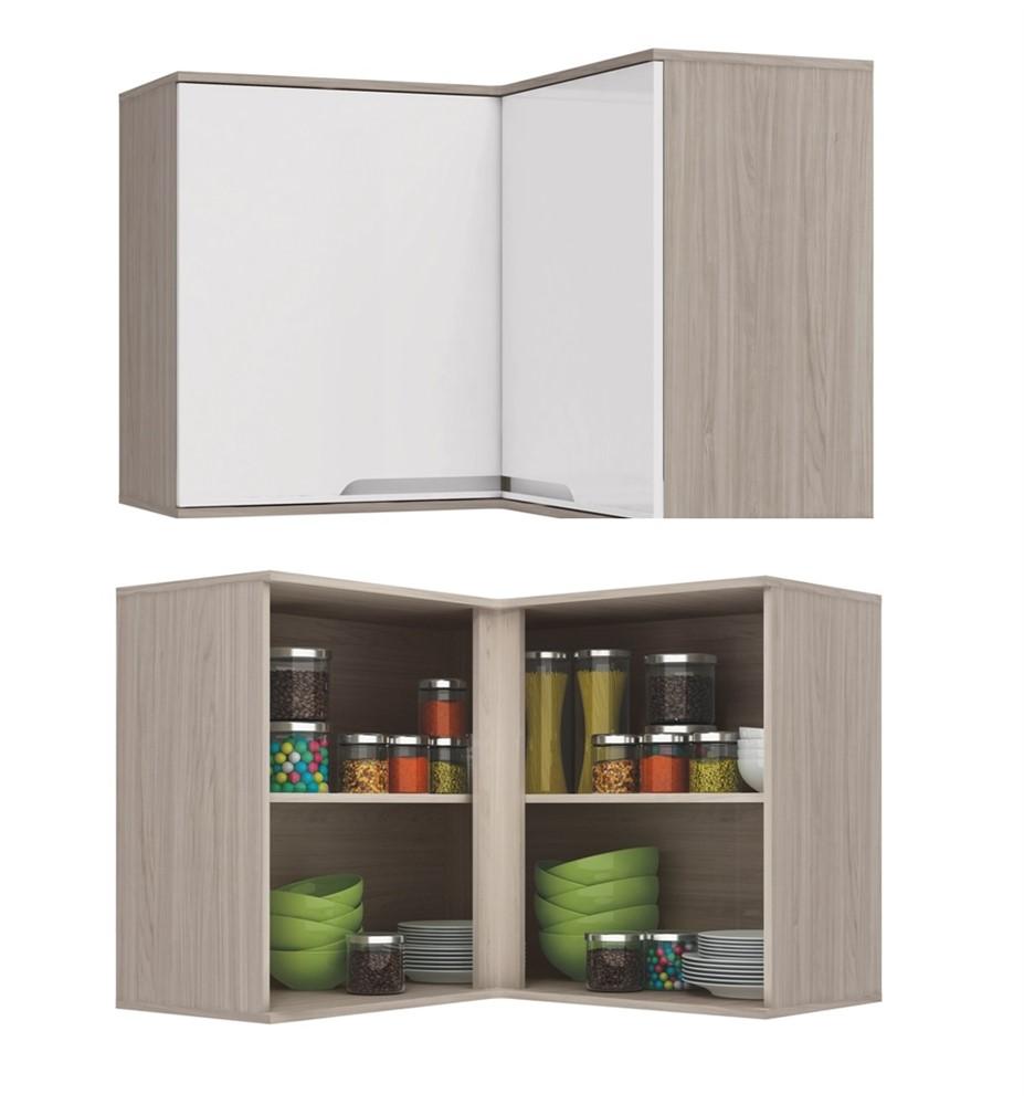 Cozinha Modulada 12 Pe As Solaris Carvale Branco Azulejo N4