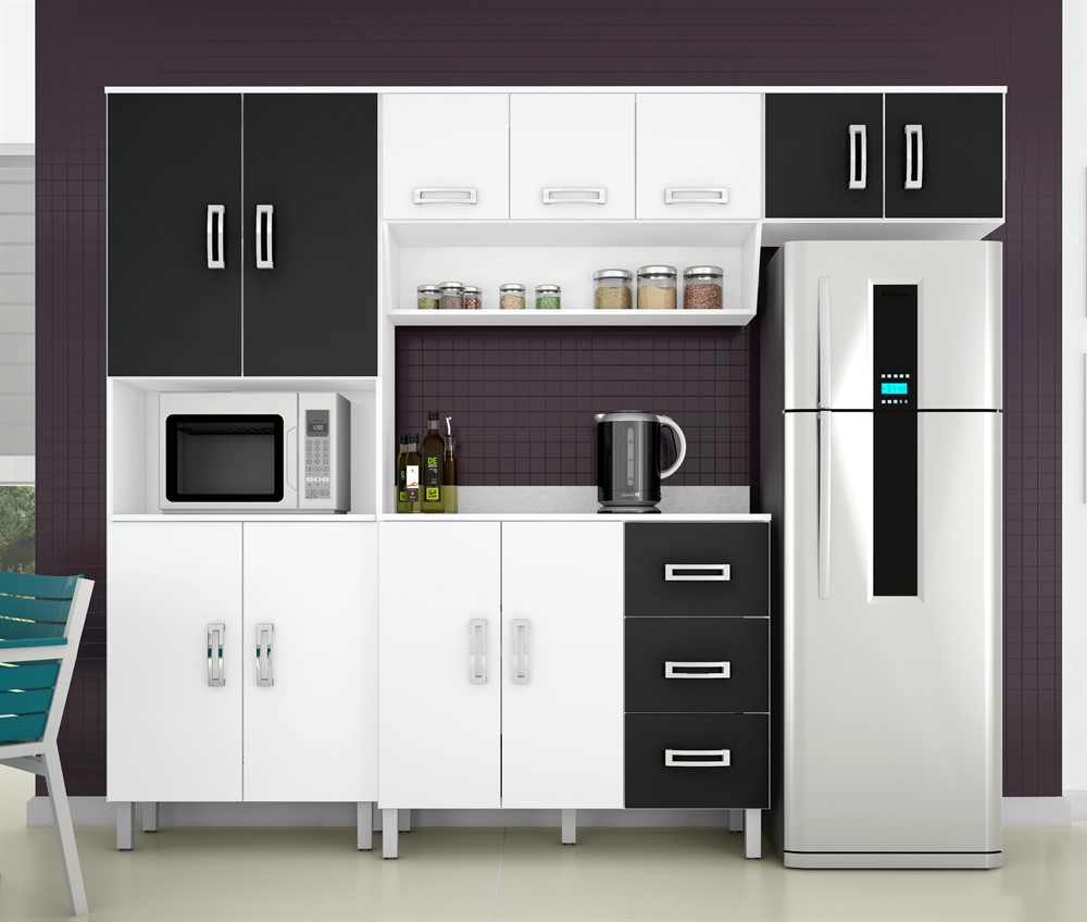Cozinha Compacta Poliman M Veis Franciele Oppenau Info