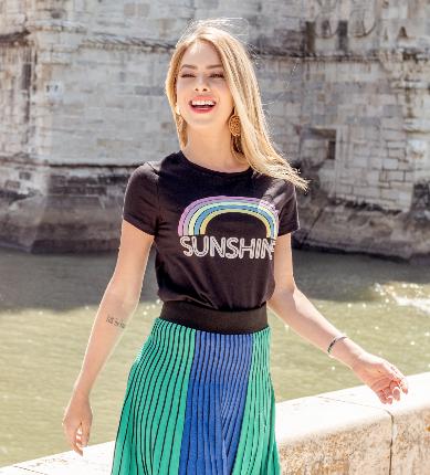 T-Shirt Sunshine (V20057)