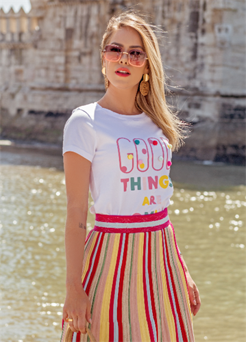 T-Shirt Good Things (V20038)