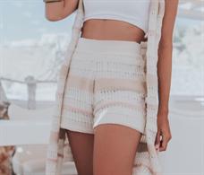Shorts Listrado (V18149)