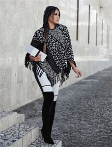 Poncho Animal Print (A2661)