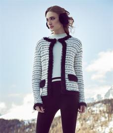 Casaco Chanel com Pelo (A3205)