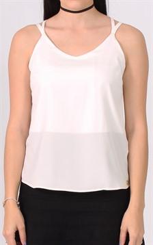 V17015 - Blusa alcinha trançada