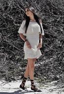 Vestido de Jabô com Paetê (V18100)