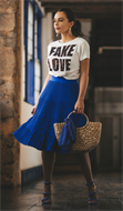 T-Shirt Fake Love (V19092)