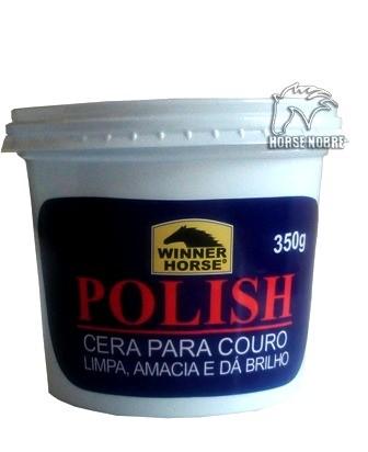 Cera para couro Polish 350g