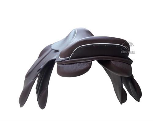 Sela de Salto Black Horse Pró Luxus