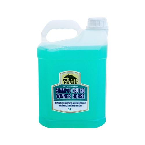 Shampoo Neutro 5 Litros Winner Horse