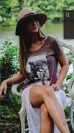 Camiseta Feminina - Equestrian Jumping