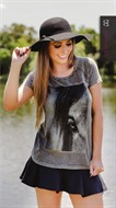 Camiseta Feminina - Close Eye