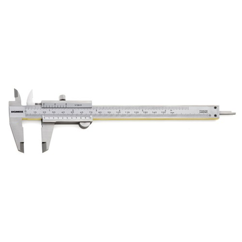 Paquímetro Universal com guias de Titanio Graduação 0,02mm1-128 300MM12 Cod.100.027-TIN