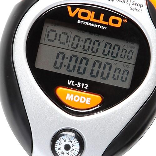 Cronômetro com 10 Memórias e Bússola Mod. VL-512
