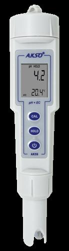 Medidor de pH (phmetro) e Condutividade de Bolso Mod. AK-59
