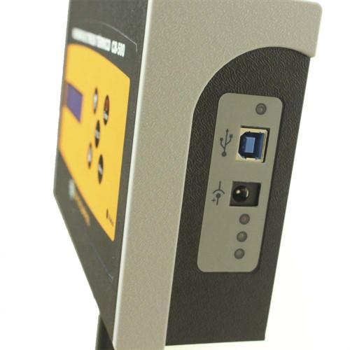 Termômetro De Globo Mod. CB-500 + Certificado de Calibração com padrões rastreáveis ao INMETRO / RBC