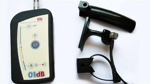 Medidor de Vibração Ocupacional VIB008 para Mãos-Braços e Corpo Inteiro Mod. VIB-008