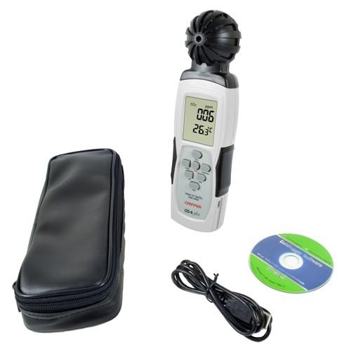 Medidor Dióxido de Carbono com Datalogger (CO2) Mod. CO-6 PLUS