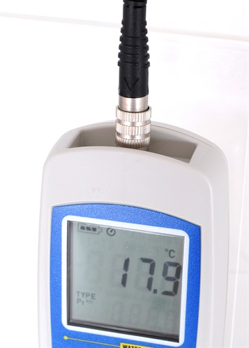 Termômetro Portátil à Prova d'Água com Sensor PT-100 - CBAK-370