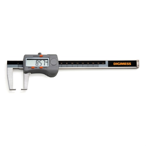 Paquímetro Digital (Canais Externos - Pontas Tipo Lâmina) 200MM Cod.100.248C