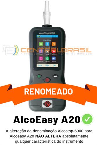 Bafômetro Mod. Alcostop 6900 com Impressora Integrada