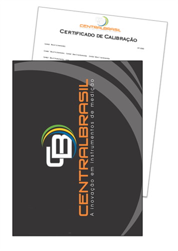 Certificado De Calibração para Termômetros Infravermelhos