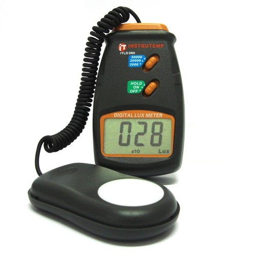 Locação de 1 unidade do equipamento Luxímetro Digital Portátil ITLD-260 ou similar