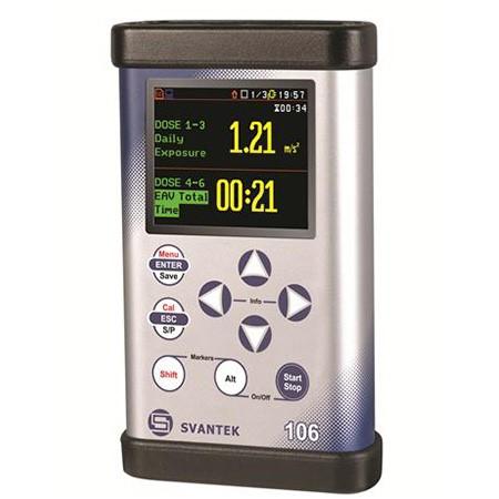 Medidor de Vibração Digital do Corpo Inteiro Mod. SV-106