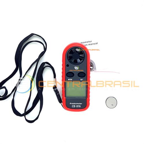 CB-816 Termo-Anemômetro Digital
