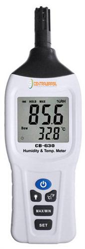Termo-Higrômetro Portátil com Indicação de Ponto de Orvalho Mod. AK-630