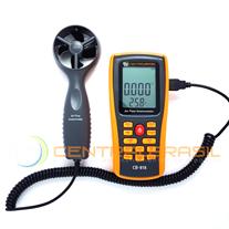 CB-818 Termo-Anemometro com Datalogger (área e vazão)