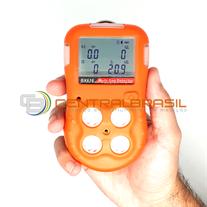 CBX-616 4 Gases Detector de 4 gases com Software (LEL, H2S,CO E O2)