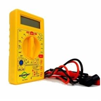 Multímetro Digital Com Alarme Sonoro 8522