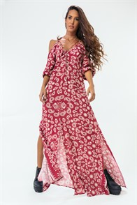 Vestido longo astha