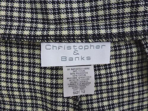 Saia-short Christopher & Banks