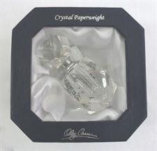 Peso de papel de cristal