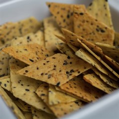 Crostinis de Sementes com Alho (50g)