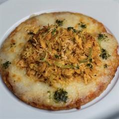 Pizza Low Carb de Frango com Mozarela de Búfala (200g)